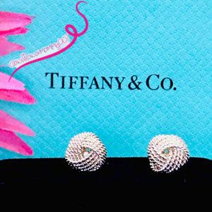 NWOT Tiffany & Co. Tiffany Twist Knot Earrings